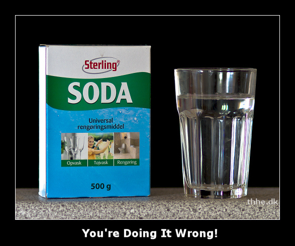 Soda Water fail